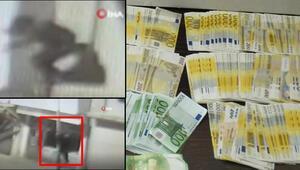 Hırsızların balkon üzerinden işyerine girmeleri kamerada