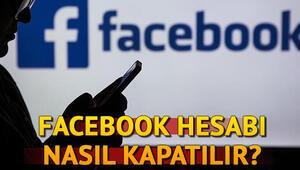 Facebook nasıl kapatılır Facebook hesabı kalıcı olarak nasıl silinir