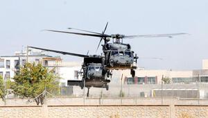 Helikopterler 80 KM daha doğuya uçtu