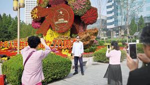 Pekin'de 70'inci yıldönümü alarmı