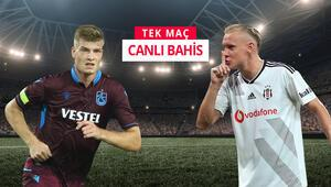 Trabzonda kritik maç 3 eksikli Beşiktaşın iddaa oranı...