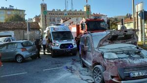 Yeniçağada kaza: 2 yaralı