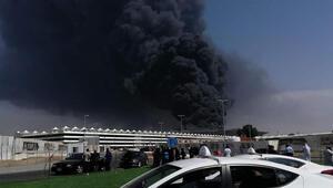 Suudi Arabistanda yangın
