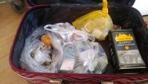 Rus turistin çantasından çıkanlar şaşırttı Her şey dahili yanlış anlamış...