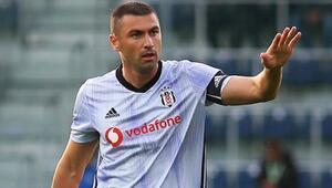 Trabzonspor - Beşiktaş maçında Burak Yılmaza şok tepki