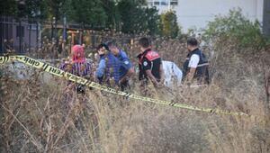 Korkunç olay Okul yanındaki boş arazide bulundu