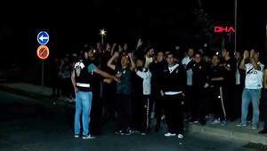Havalimanında Beşiktaşa protesto