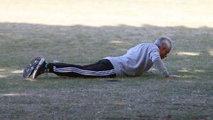 Mourinho şaşkına çevirdi Parkta...