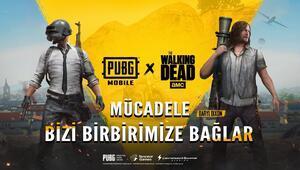 The Walking Dead karakterleri PUBG MOBILE'a geliyor
