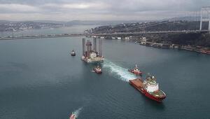 Türk boğazlarından 6 ayda 40 bin 880 gemi geçti