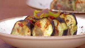 Fırında köfteli patlıcan kebabı nasıl yapılır Fırında köfteli patlıcan tarifi