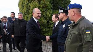 İçişleri Bakanı Soylu Ukraynada