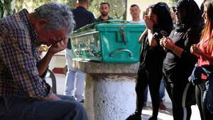 Kızının gözleri önünde öldürülen babaya son veda
