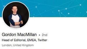 Twitter yöneticisi İngiliz yedek subaymış
