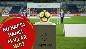Süper Ligde bu hafta hangi maçlar var İşte Süper Lig 7. hafta maç programı ve fikstürü