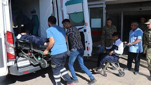 Gaziantepte askeri araç devrildi: 2 yaralı