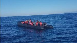 İzmirde 157 kaçak göçmen yakalandı