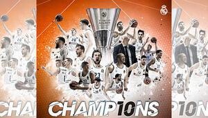 Euroleaguede rekor Real Madridde 10 şampiyonluk...