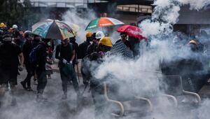 Hong Kongda maske yasağıyla gösterilerin bitmesi umudu