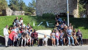 Erasmus öğrencileri Vizeyi ziyaret etti