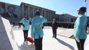 Yeni yasama yılı başlıyor... İlk tören Meclisteki Atatürk Anıtında