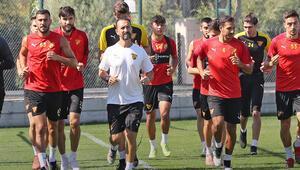 Göztepe, Kayserispor maçının hazırlıklarına başladı