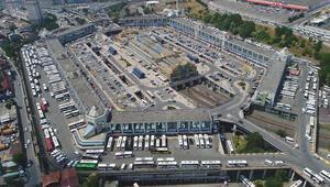 15 Temmuz Demokrasi Otogarındaki metruk yapılar yıkıldı