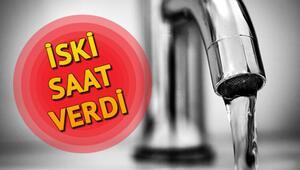 İstanbulda sular ne zaman gelecek İSKİ İstanbul su kesinti programı
