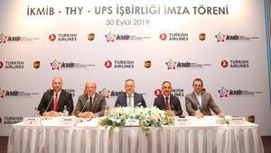 İKMİB, UPS ve THY Havacılık Akademisi ile iş birliği protokolü imzaladı