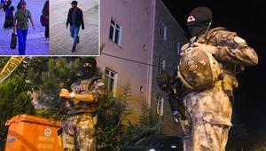 Son dakika... Teröristlerin kaldığı eve operasyon düzenlendi Etkisiz hale getirildiler