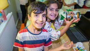 TEGV iş birliği yaptı, Diyarbakır Ergani'de çocuklara destek oldu