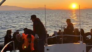 Çeşmede 42 kaçak göçmen yakalandı