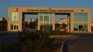 Namık Kemal Üniversitesinin depremde hasar gören binası boşaltıldı