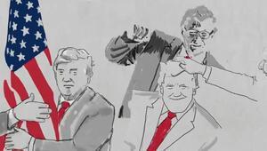 ABD Başkanı Trumpın seçim kampanyası videosu olay yarattı
