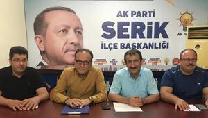 AK Parti Serike Karabay getirildi