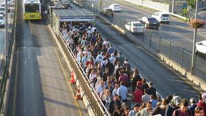 İBBden metrobüs açıklaması