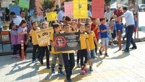 Kırıkhanda Yaya Güvenliğinin Nöbetçisiyiz etkinliği