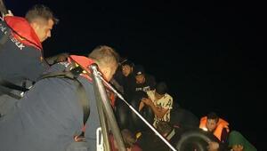 Bodrum ve Marmariste 80 kaçak göçmen yakalandı