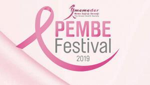 Meme kanseri hastaları ve ünlüler Pembe Festivalde buluşuyor