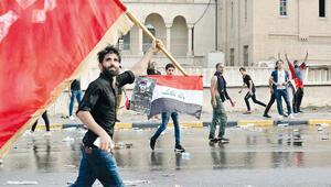 Irak'ta hükümet karşıtı protesto