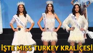 Miss Turkey 2019da kim birinci oldu İşte Miss Turkey birinci ikinci ve üçüncüsü