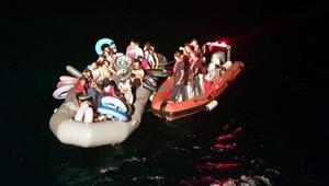 Ege Denizinde 9 ayda 36 bin 600 kaçak göçmen yakalandı
