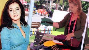 Yeşilçamın güzeli Fatma Belgen pazarda bere satıyor