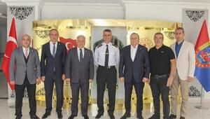 YTSO yönetiminden Albay Bakçepınar'a ziyaret