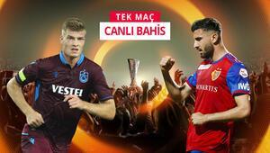 Trabzonsporun Basel maçına sürpriz iddaa önerisi Bordo mavililer kazanır ve...