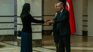 Cumhurbaşkanı Erdoğan, Estonya Büyükelçisini kabul etti