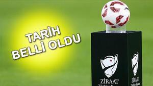 Ziraat Türkiye Kupası 4. tur maçları ne zaman başlıyor TFF duyurdu