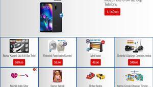 BİM 4 Ekim aktüel ürünler kataloğu Cep telefonu ve çeşitli ürünler