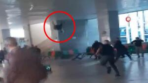 Anadolu Adalet Sarayının metro çıkışında kavga