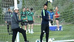 Konyasporda Kasımpaşa maçı hazırlıkları tamamlandı